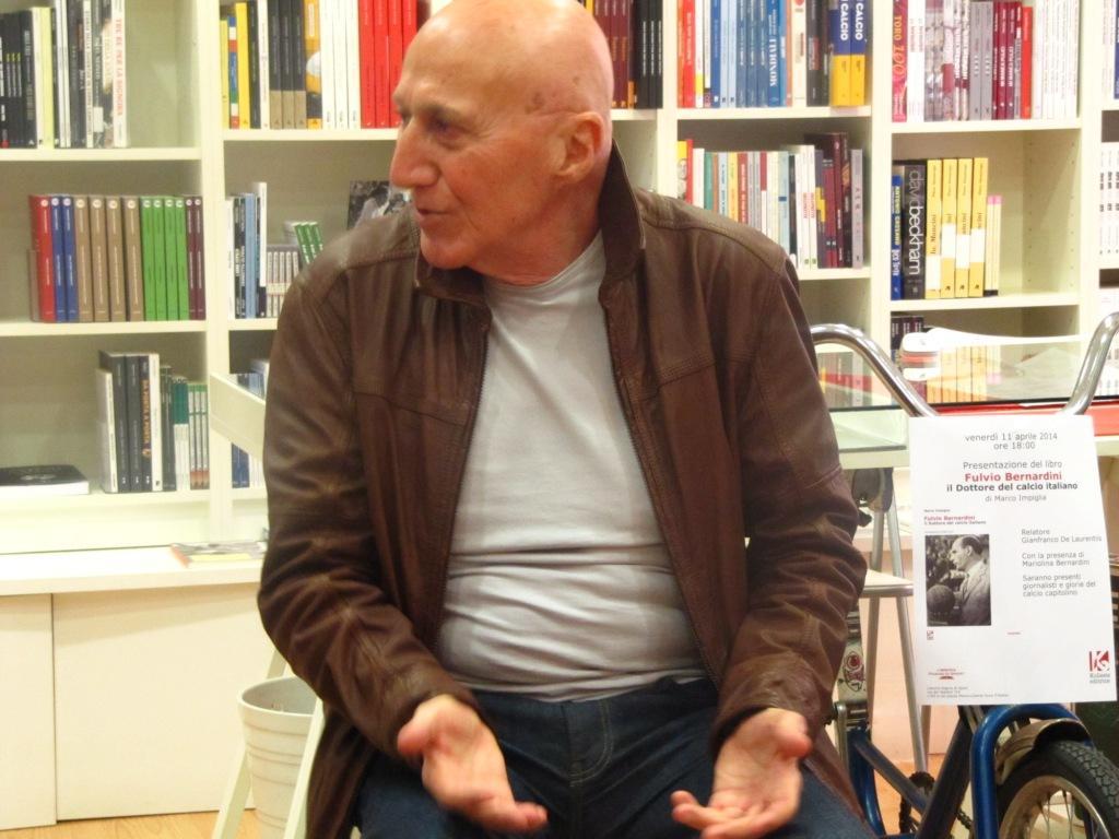 Gianfranco De Laurentiis presenta il libro di Marco Impiglia