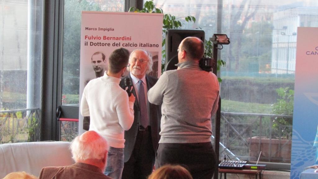 Italo Cucci presenta il libro Fulvio Bernardini, il Dottore del calcio italiano