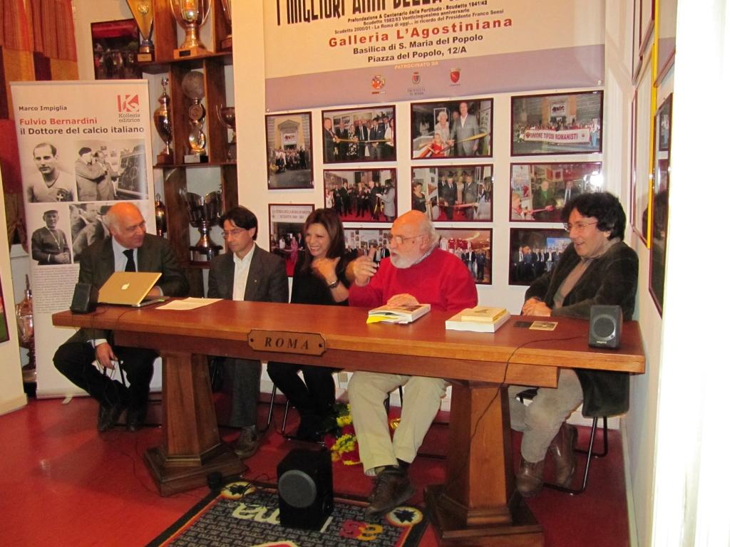 Fulvio Bernardini, il Dottore del calcio italiano: alla UTR presentato il libro di Marco Impiglia